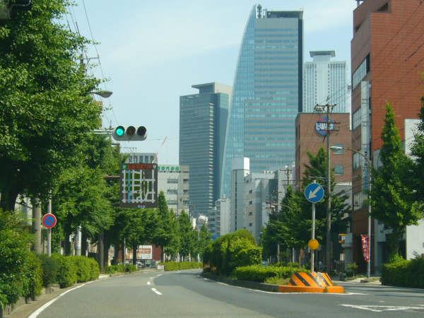 名古屋駅に向かう途中