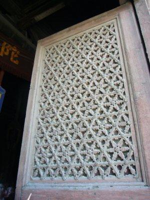 教堂石雕窗花素材