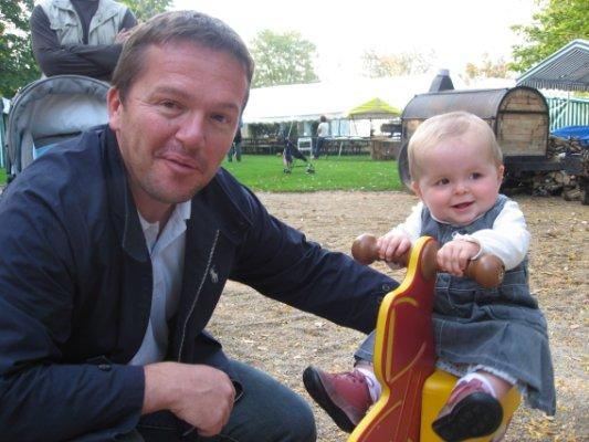 Brune et son papa