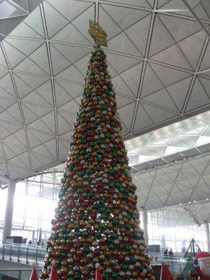 Le sapin de l'aéroport