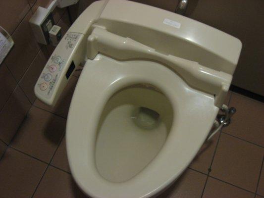 Les toilettes du futur