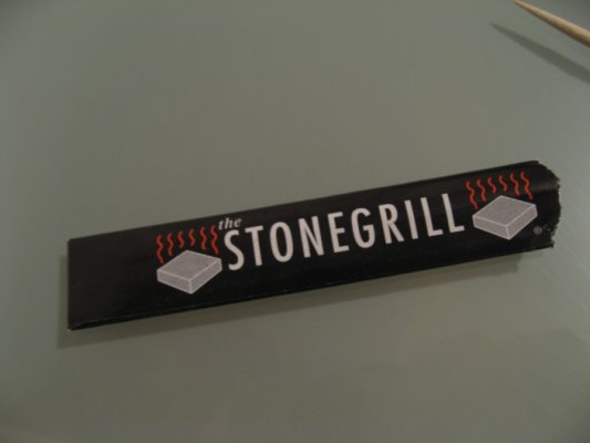 Cure-dents Stonegrill