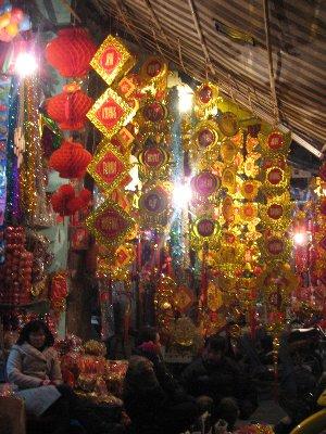 Decorations abondantes