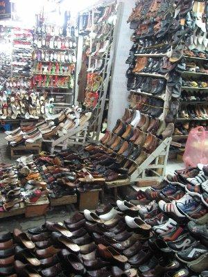 Rue des chaussures