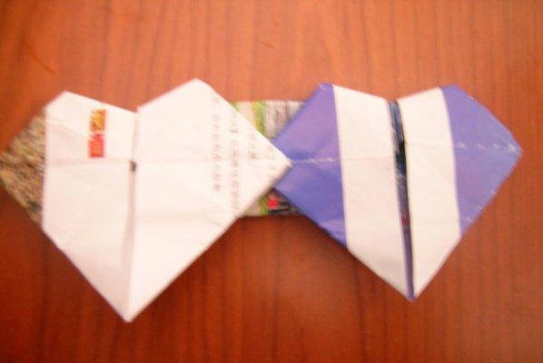 长方形折纸动物图解