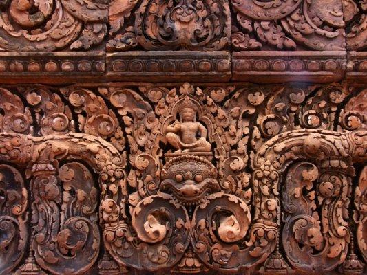 逛悠柬埔寨(四)女王宫 - lhapple403 - lhapple403的博客