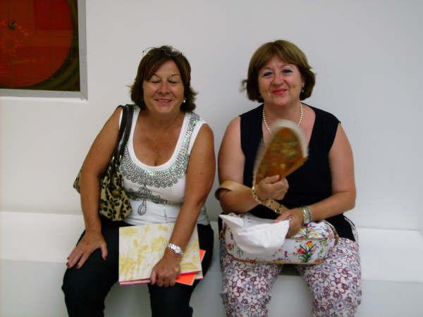 Carmen y Maby: dos preciosas españolas que pasearon conmigo.