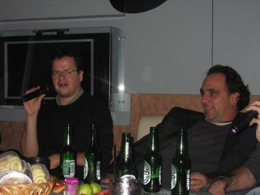 Benoit au micro, Eric s'enfonce d e plus en plus...